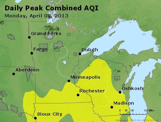 Peak AQI - http://files.airnowtech.org/airnow/2013/20130408/peak_aqi_mn_wi.jpg