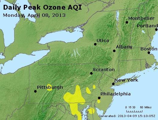 Peak Ozone (8-hour) - http://files.airnowtech.org/airnow/2013/20130408/peak_o3_ny_pa_nj.jpg
