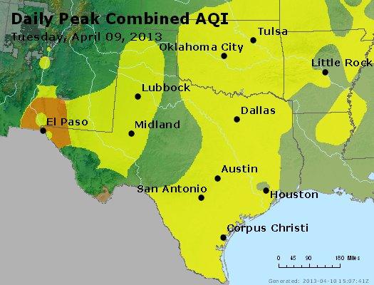 Peak AQI - http://files.airnowtech.org/airnow/2013/20130409/peak_aqi_tx_ok.jpg