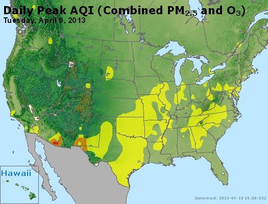 Peak AQI - http://files.airnowtech.org/airnow/2013/20130409/peak_aqi_usa.jpg