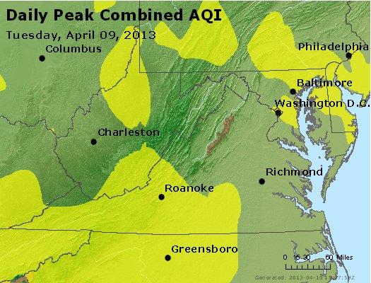 Peak AQI - http://files.airnowtech.org/airnow/2013/20130409/peak_aqi_va_wv_md_de_dc.jpg