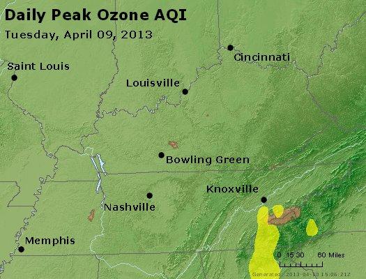 Peak Ozone (8-hour) - http://files.airnowtech.org/airnow/2013/20130409/peak_o3_ky_tn.jpg