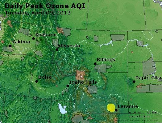 Peak Ozone (8-hour) - http://files.airnowtech.org/airnow/2013/20130409/peak_o3_mt_id_wy.jpg