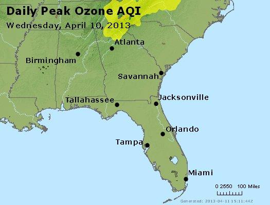 Peak Ozone (8-hour) - http://files.airnowtech.org/airnow/2013/20130410/peak_o3_al_ga_fl.jpg