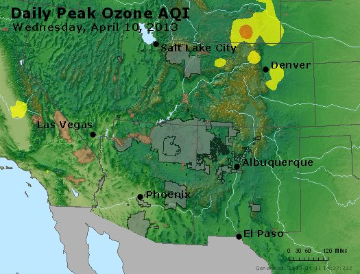 Peak Ozone (8-hour) - http://files.airnowtech.org/airnow/2013/20130410/peak_o3_co_ut_az_nm.jpg