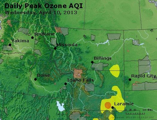 Peak Ozone (8-hour) - http://files.airnowtech.org/airnow/2013/20130410/peak_o3_mt_id_wy.jpg