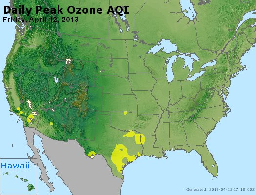 Peak Ozone (8-hour) - http://files.airnowtech.org/airnow/2013/20130412/peak_o3_usa.jpg