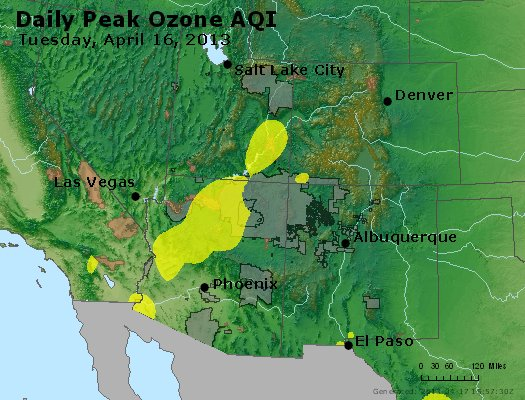 Peak Ozone (8-hour) - http://files.airnowtech.org/airnow/2013/20130416/peak_o3_co_ut_az_nm.jpg