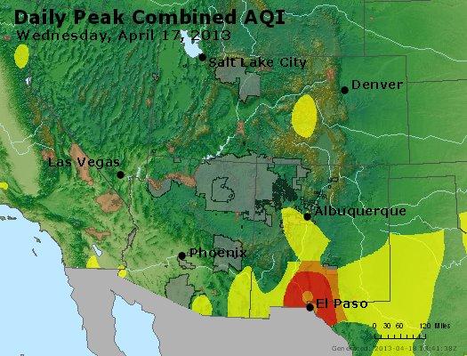 Peak AQI - http://files.airnowtech.org/airnow/2013/20130417/peak_aqi_co_ut_az_nm.jpg