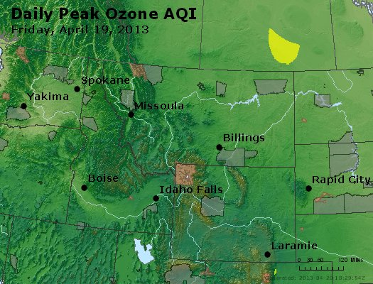 Peak Ozone (8-hour) - http://files.airnowtech.org/airnow/2013/20130419/peak_o3_mt_id_wy.jpg