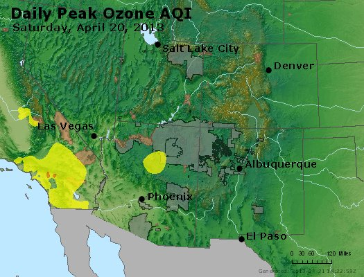 Peak Ozone (8-hour) - http://files.airnowtech.org/airnow/2013/20130420/peak_o3_co_ut_az_nm.jpg