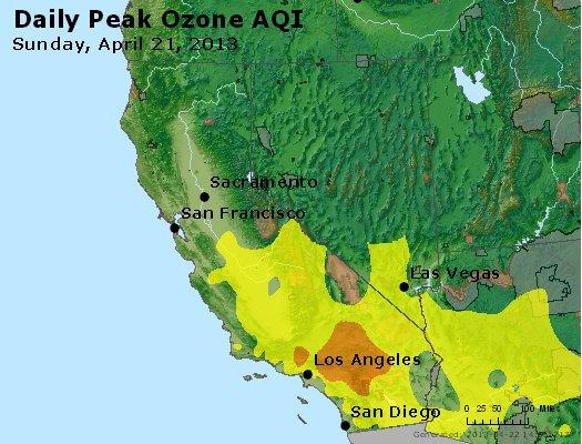 Peak Ozone (8-hour) - http://files.airnowtech.org/airnow/2013/20130421/peak_o3_ca_nv.jpg