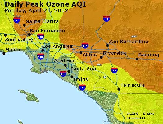 Peak Ozone (8-hour) - http://files.airnowtech.org/airnow/2013/20130421/peak_o3_losangeles_ca.jpg