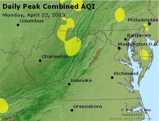 Peak AQI - http://files.airnowtech.org/airnow/2013/20130422/peak_aqi_va_wv_md_de_dc.jpg