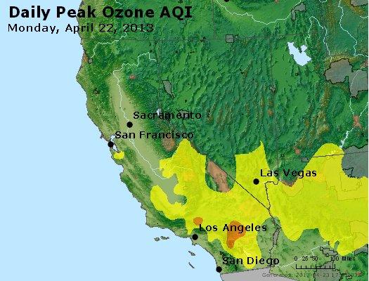 Peak Ozone (8-hour) - http://files.airnowtech.org/airnow/2013/20130422/peak_o3_ca_nv.jpg