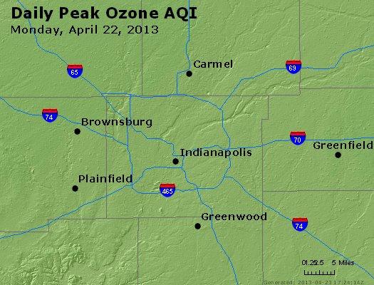 Peak Ozone (8-hour) - http://files.airnowtech.org/airnow/2013/20130422/peak_o3_indianapolis_in.jpg