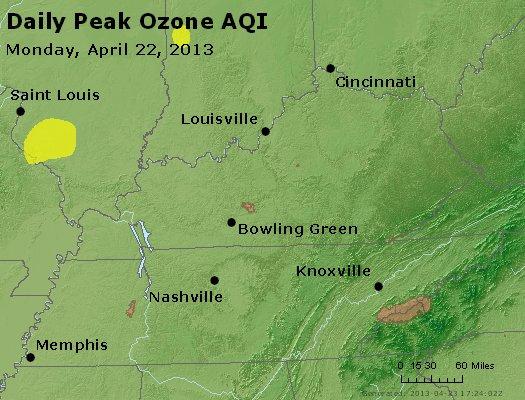 Peak Ozone (8-hour) - http://files.airnowtech.org/airnow/2013/20130422/peak_o3_ky_tn.jpg