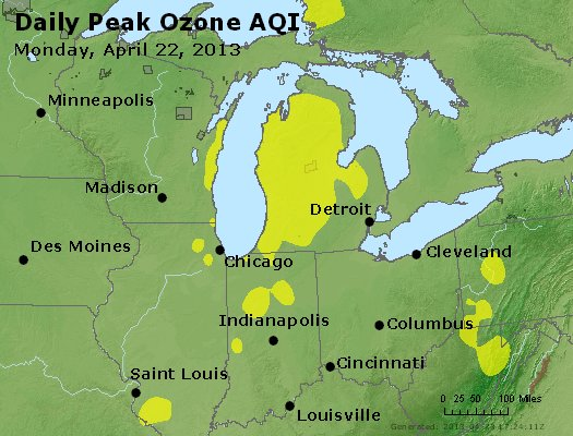Peak Ozone (8-hour) - http://files.airnowtech.org/airnow/2013/20130422/peak_o3_mi_in_oh.jpg