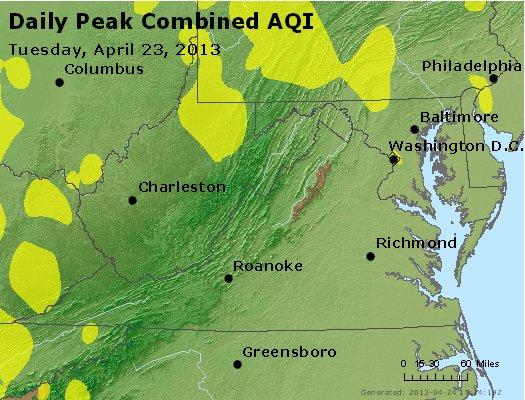 Peak AQI - http://files.airnowtech.org/airnow/2013/20130423/peak_aqi_va_wv_md_de_dc.jpg
