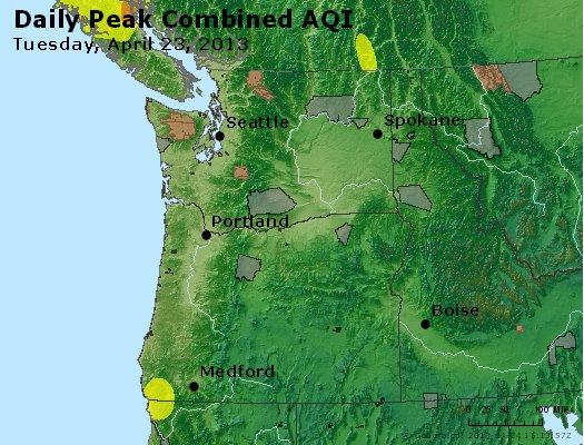 Peak AQI - http://files.airnowtech.org/airnow/2013/20130423/peak_aqi_wa_or.jpg