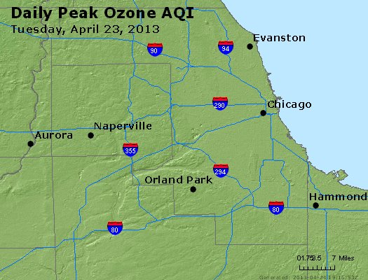 Peak Ozone (8-hour) - http://files.airnowtech.org/airnow/2013/20130423/peak_o3_chicago_il.jpg