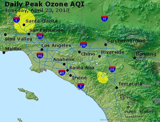 Peak Ozone (8-hour) - http://files.airnowtech.org/airnow/2013/20130423/peak_o3_losangeles_ca.jpg