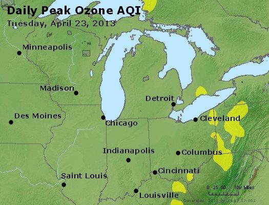 Peak Ozone (8-hour) - http://files.airnowtech.org/airnow/2013/20130423/peak_o3_mi_in_oh.jpg