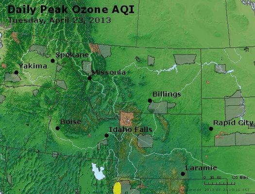 Peak Ozone (8-hour) - http://files.airnowtech.org/airnow/2013/20130423/peak_o3_mt_id_wy.jpg