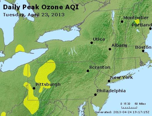 Peak Ozone (8-hour) - http://files.airnowtech.org/airnow/2013/20130423/peak_o3_ny_pa_nj.jpg