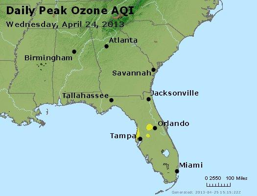 Peak Ozone (8-hour) - http://files.airnowtech.org/airnow/2013/20130424/peak_o3_al_ga_fl.jpg
