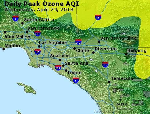Peak Ozone (8-hour) - http://files.airnowtech.org/airnow/2013/20130424/peak_o3_losangeles_ca.jpg