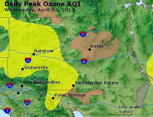 Peak Ozone (8-hour) - http://files.airnowtech.org/airnow/2013/20130424/peak_o3_sanbernardino_ca.jpg