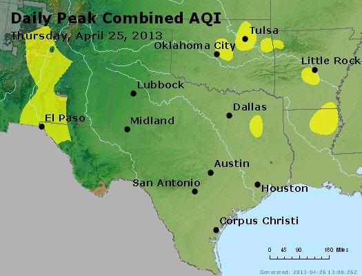 Peak AQI - http://files.airnowtech.org/airnow/2013/20130425/peak_aqi_tx_ok.jpg