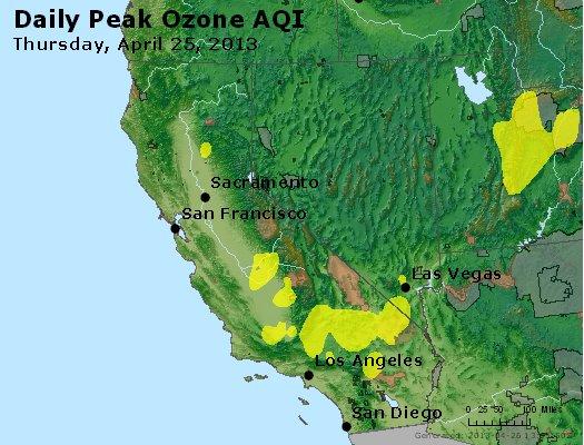 Peak Ozone (8-hour) - http://files.airnowtech.org/airnow/2013/20130425/peak_o3_ca_nv.jpg