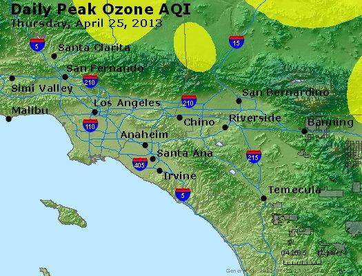 Peak Ozone (8-hour) - http://files.airnowtech.org/airnow/2013/20130425/peak_o3_losangeles_ca.jpg