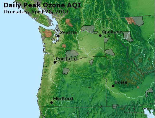 Peak Ozone (8-hour) - http://files.airnowtech.org/airnow/2013/20130425/peak_o3_wa_or.jpg