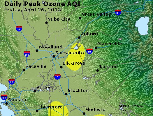 Peak Ozone (8-hour) - http://files.airnowtech.org/airnow/2013/20130426/peak_o3_sacramento_ca.jpg