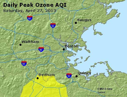 Peak Ozone (8-hour) - http://files.airnowtech.org/airnow/2013/20130427/peak_o3_boston_ma.jpg