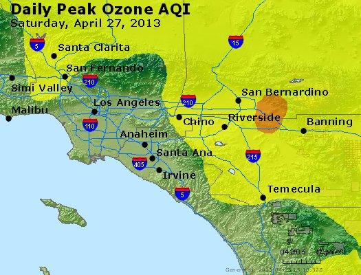 Peak Ozone (8-hour) - http://files.airnowtech.org/airnow/2013/20130427/peak_o3_losangeles_ca.jpg