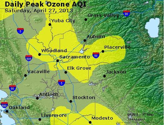 Peak Ozone (8-hour) - http://files.airnowtech.org/airnow/2013/20130427/peak_o3_sacramento_ca.jpg