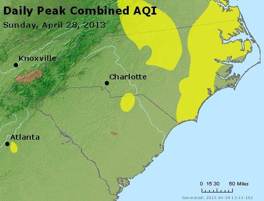 Peak AQI - http://files.airnowtech.org/airnow/2013/20130428/peak_aqi_nc_sc.jpg