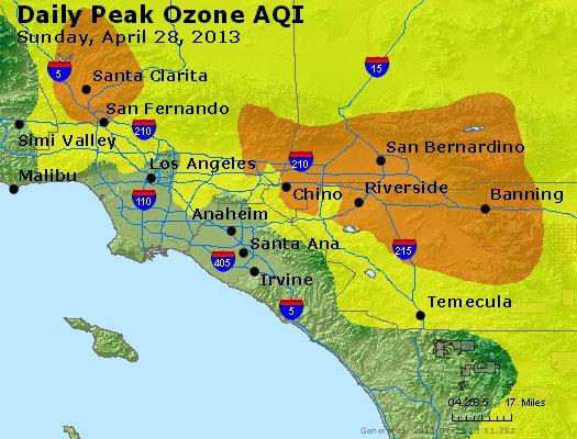 Peak Ozone (8-hour) - http://files.airnowtech.org/airnow/2013/20130428/peak_o3_losangeles_ca.jpg