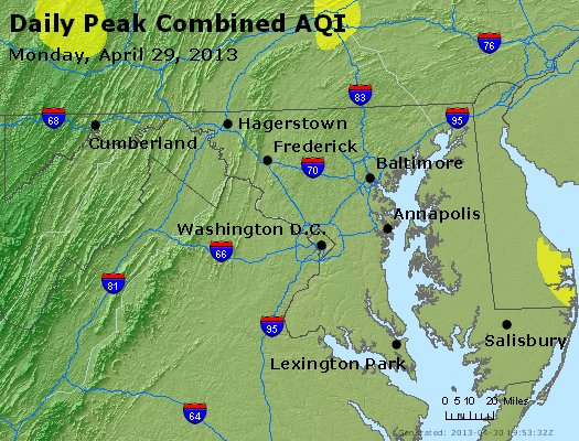 Peak AQI - http://files.airnowtech.org/airnow/2013/20130429/peak_aqi_maryland.jpg