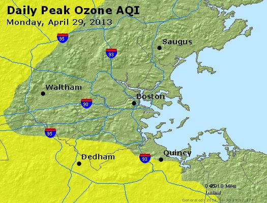 Peak Ozone (8-hour) - http://files.airnowtech.org/airnow/2013/20130429/peak_o3_boston_ma.jpg