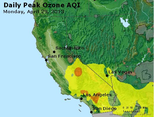 Peak Ozone (8-hour) - http://files.airnowtech.org/airnow/2013/20130429/peak_o3_ca_nv.jpg