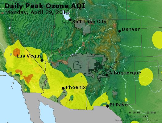 Peak Ozone (8-hour) - http://files.airnowtech.org/airnow/2013/20130429/peak_o3_co_ut_az_nm.jpg