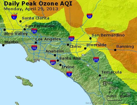 Peak Ozone (8-hour) - http://files.airnowtech.org/airnow/2013/20130429/peak_o3_losangeles_ca.jpg