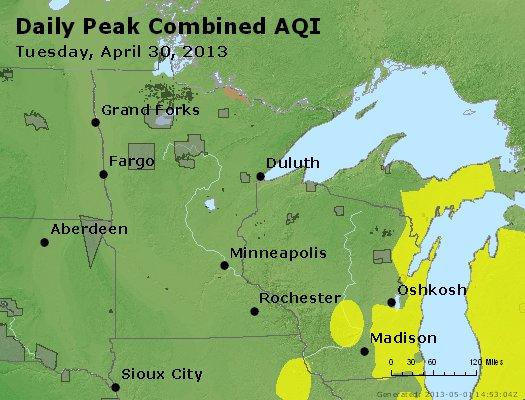 Peak AQI - http://files.airnowtech.org/airnow/2013/20130430/peak_aqi_mn_wi.jpg