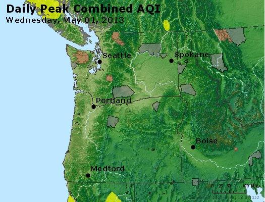 Peak AQI - http://files.airnowtech.org/airnow/2013/20130501/peak_aqi_wa_or.jpg