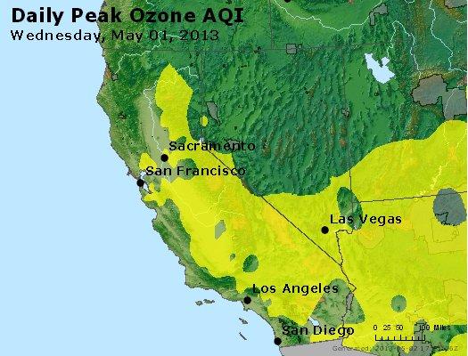 Peak Ozone (8-hour) - http://files.airnowtech.org/airnow/2013/20130501/peak_o3_ca_nv.jpg